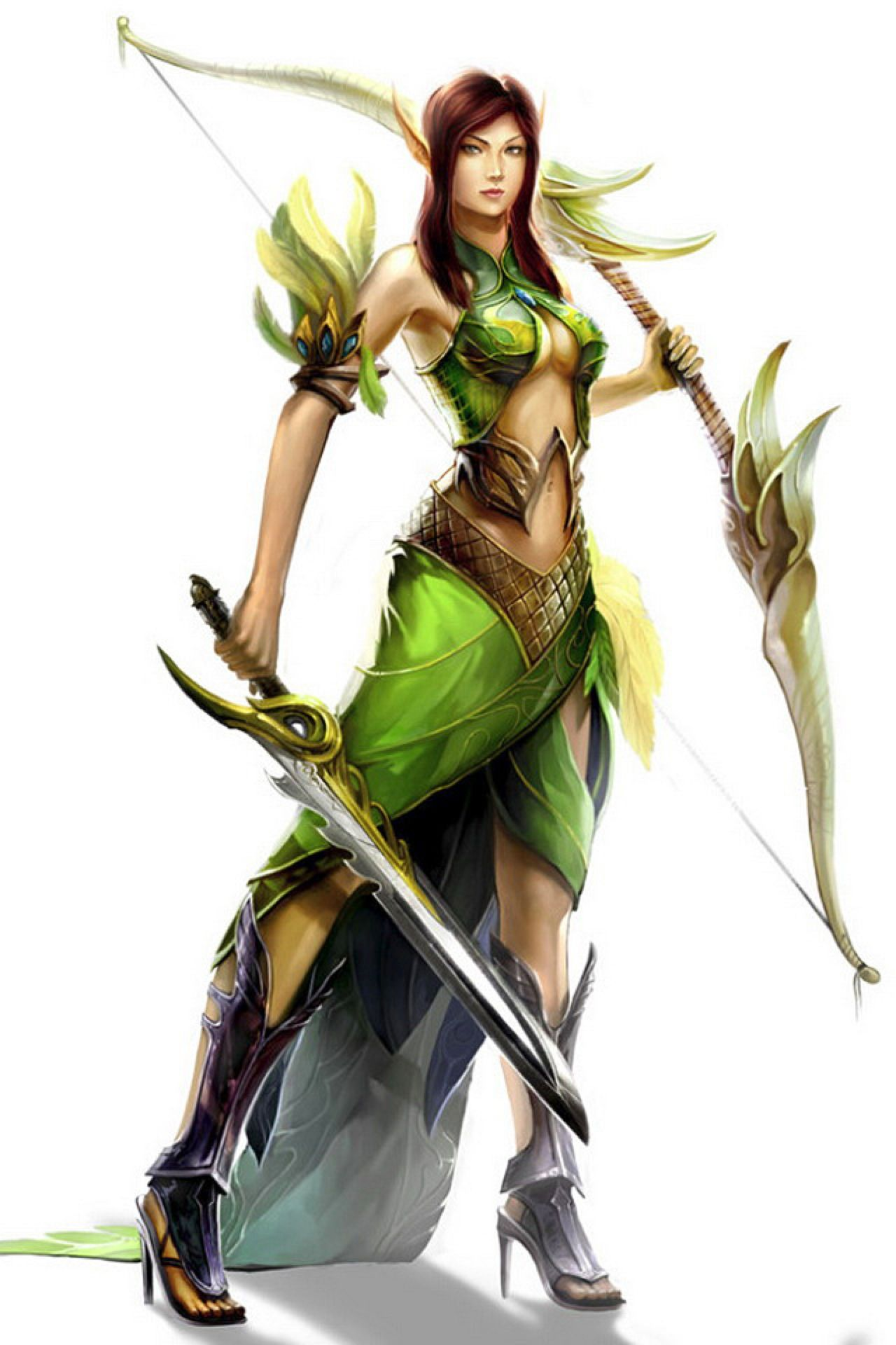 Anime elf female warrior images adult photos