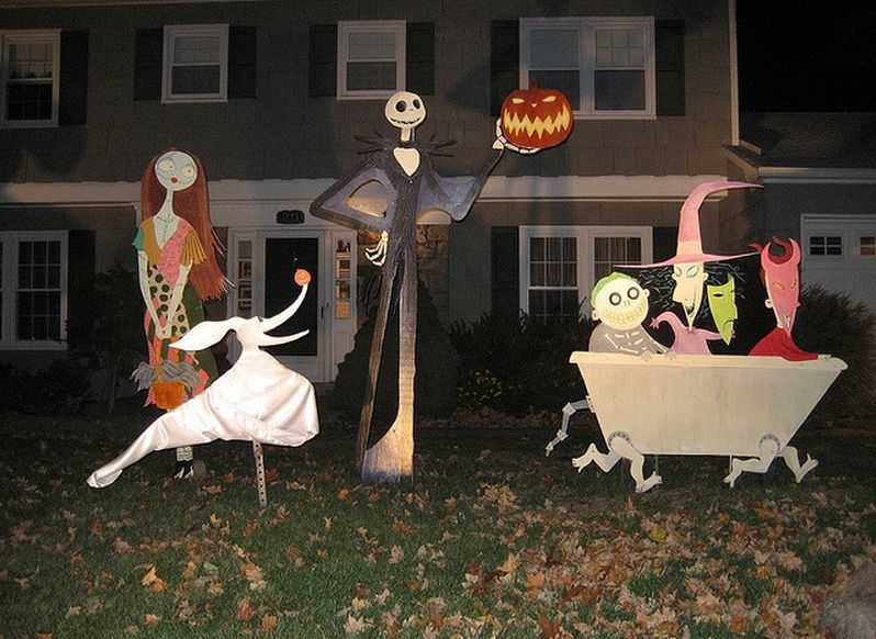 Nightmare before christmas decor | Halloween | Pinterest