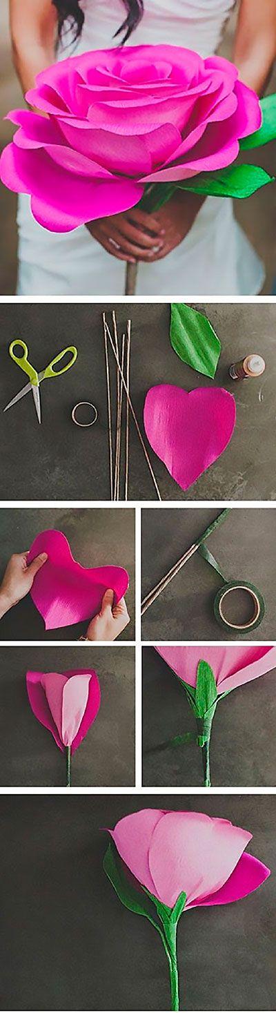 Цветы из бумаги своими руками может сделать даже новичок с поомщью представленных в статье подробных мастер-классов и схем. поде