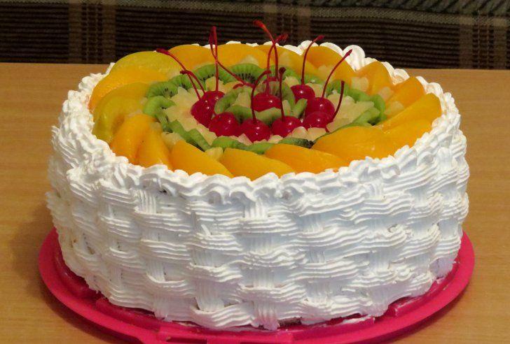 Торт из сливок в домашних условиях