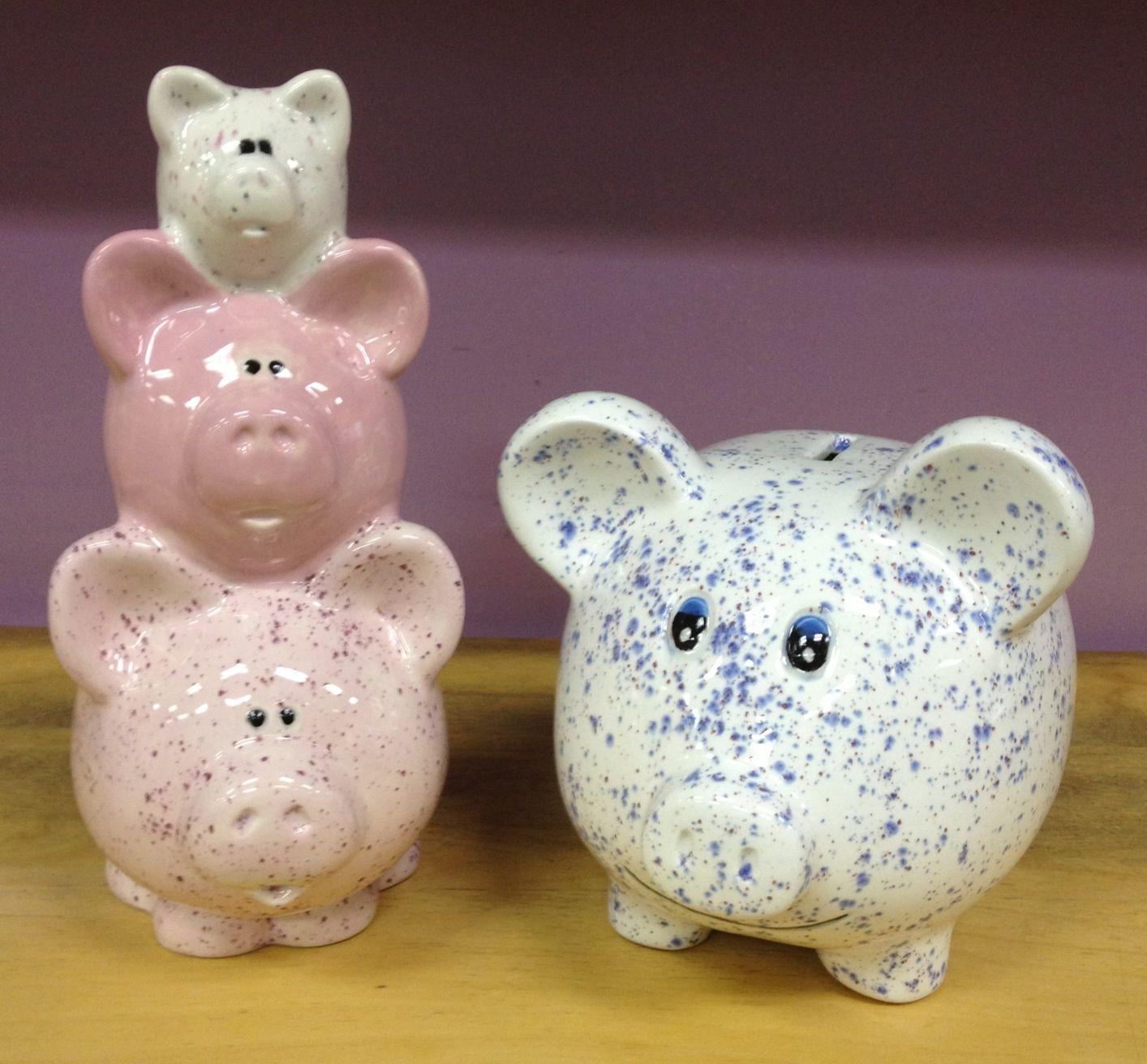 Piggies paint your own pottery ideas pinterest for Paint your own pottery ideas