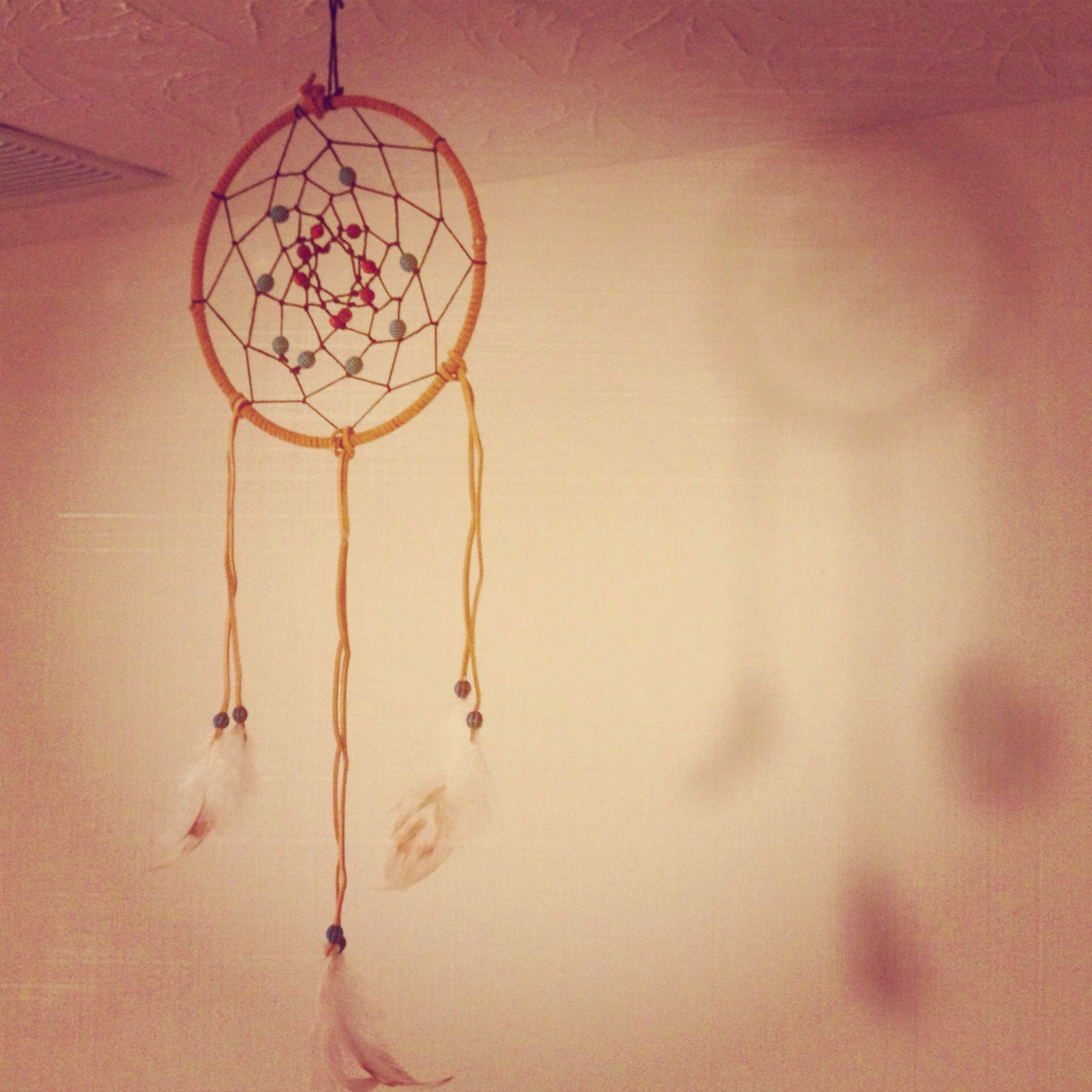 Easy homemade dream catcher crafts for the kids pinterest for Easy to make dream catchers