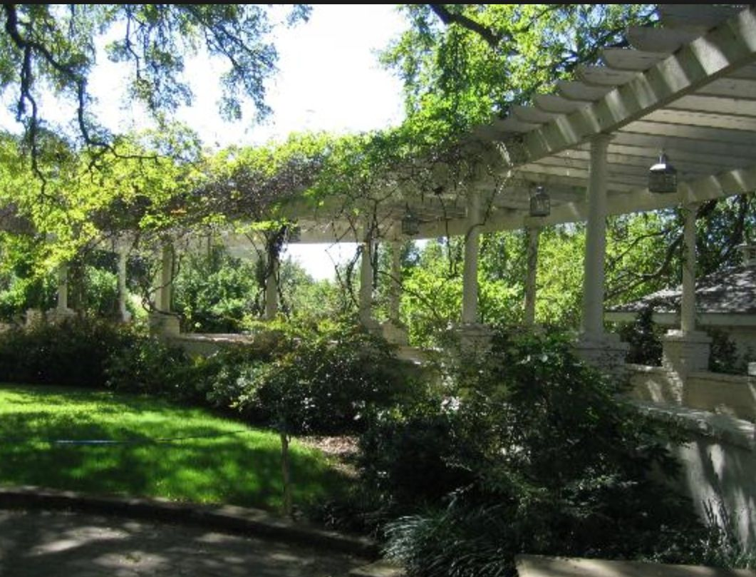 Pergola Chandor Gardens Weatherford Texas Pinterest