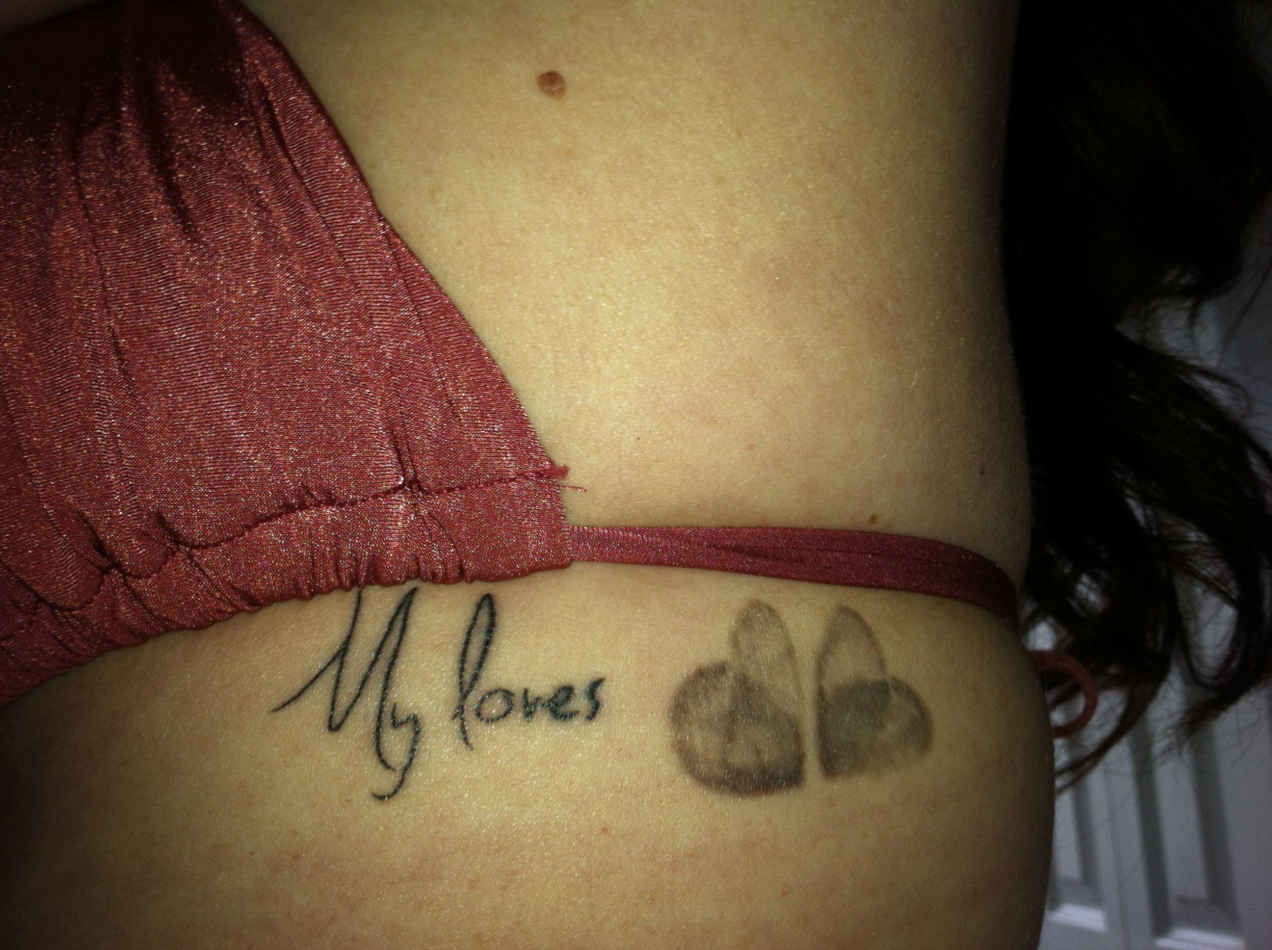 children 39 s fingerprint heart tattoo tattoos pinterest. Black Bedroom Furniture Sets. Home Design Ideas