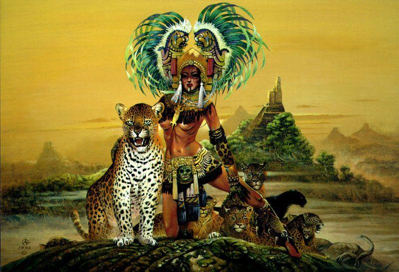 Aztec Warrior Wallpapers