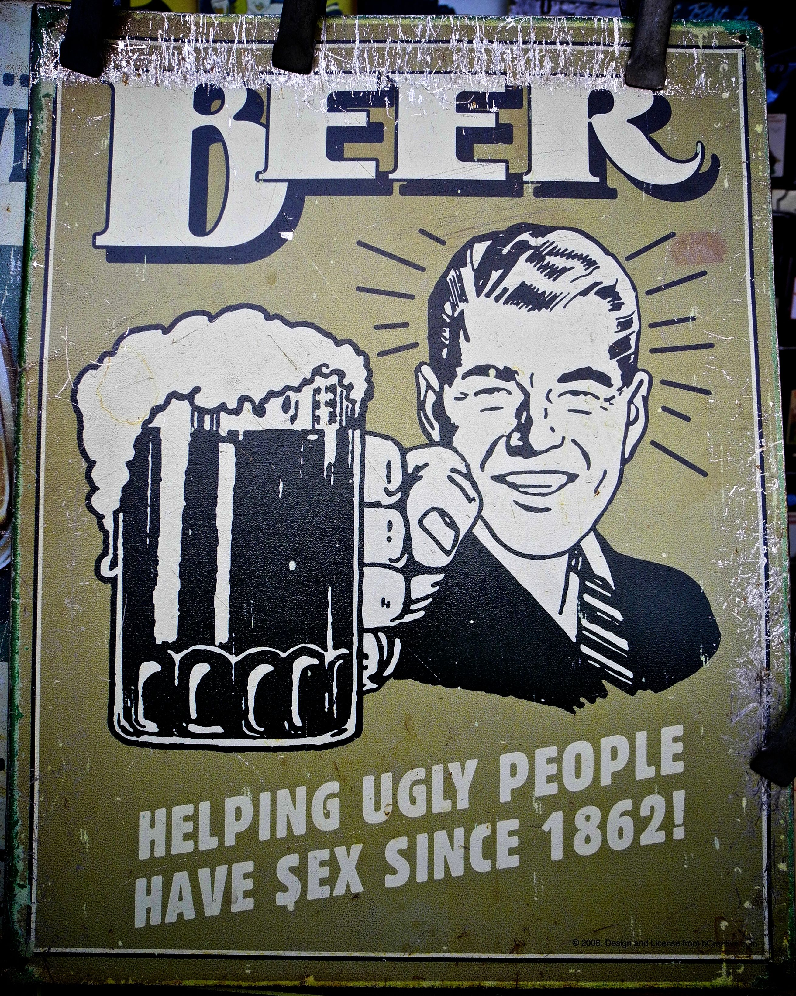Beer! Helping Ugly People Have Sex   Dibujos   Pinterest: http://pinterest.com/pin/35888128251512708/
