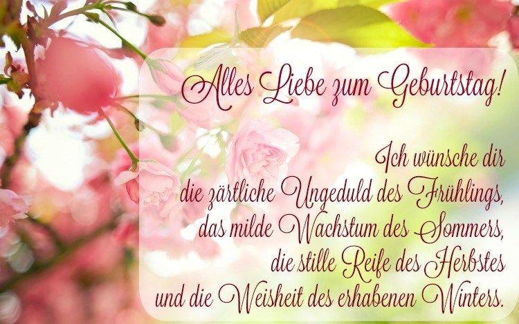 poetischer Geburtstagsspruch für beste Freundin | Spruech ...