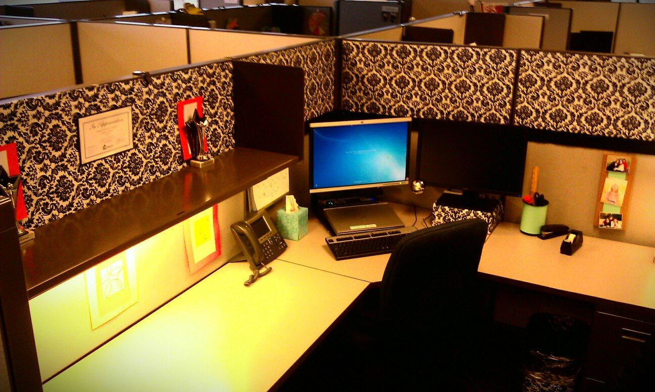 office cubicle decor ideas