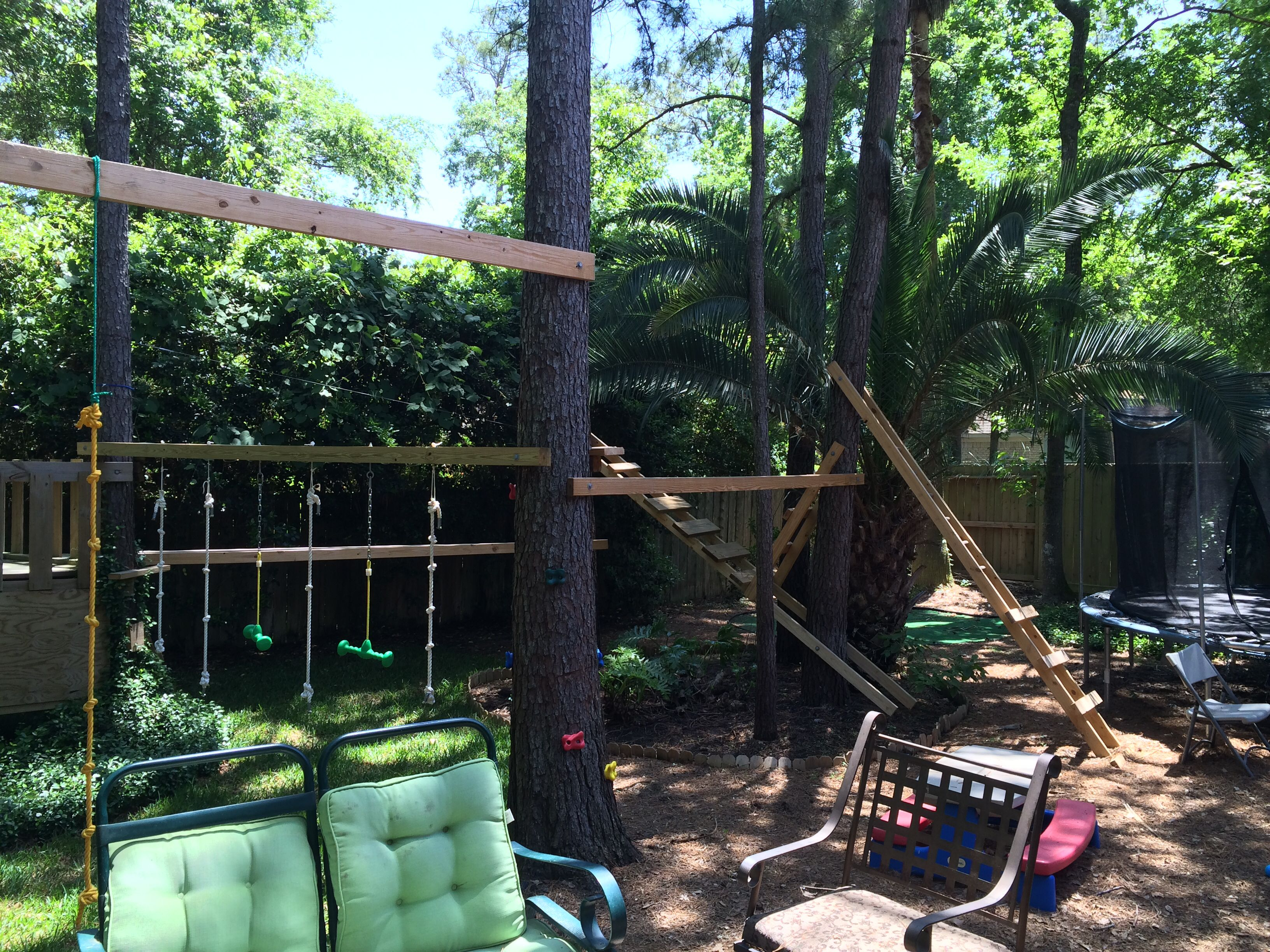 Backyard Ninja Warrior Design : American ninja warrior training  Outdoor kids  Pinterest