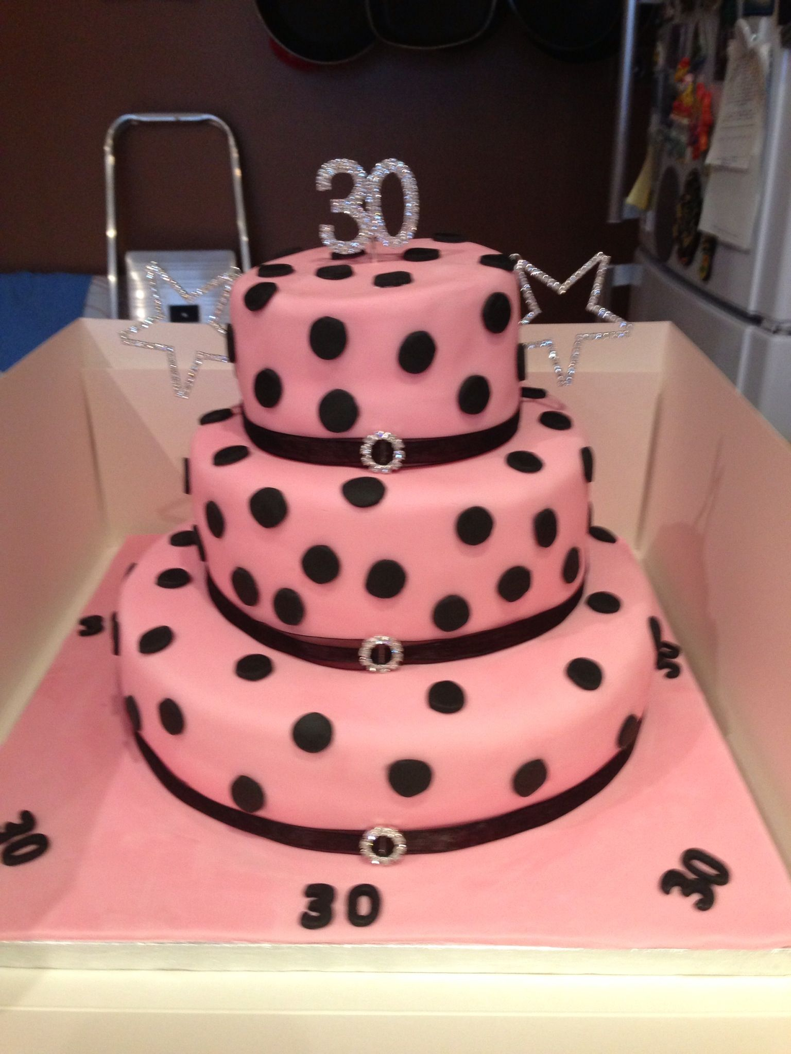 Laura s 30th birthday cake Cakes Pinterest