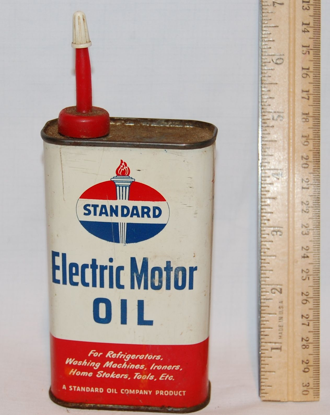 Standard Electric Motor Oil Can Antiques And Vintage