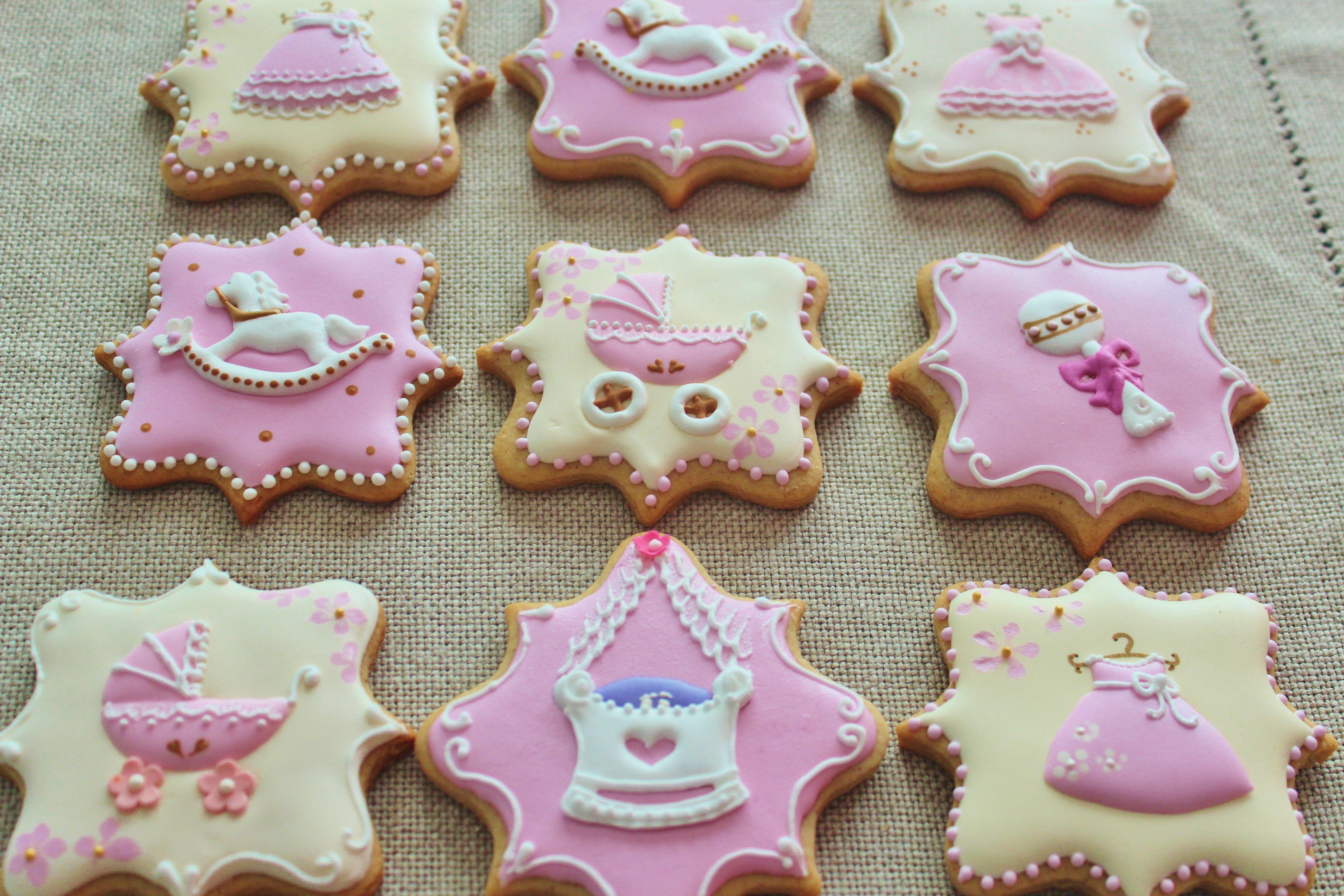 baby shower cookies cookies pinterest