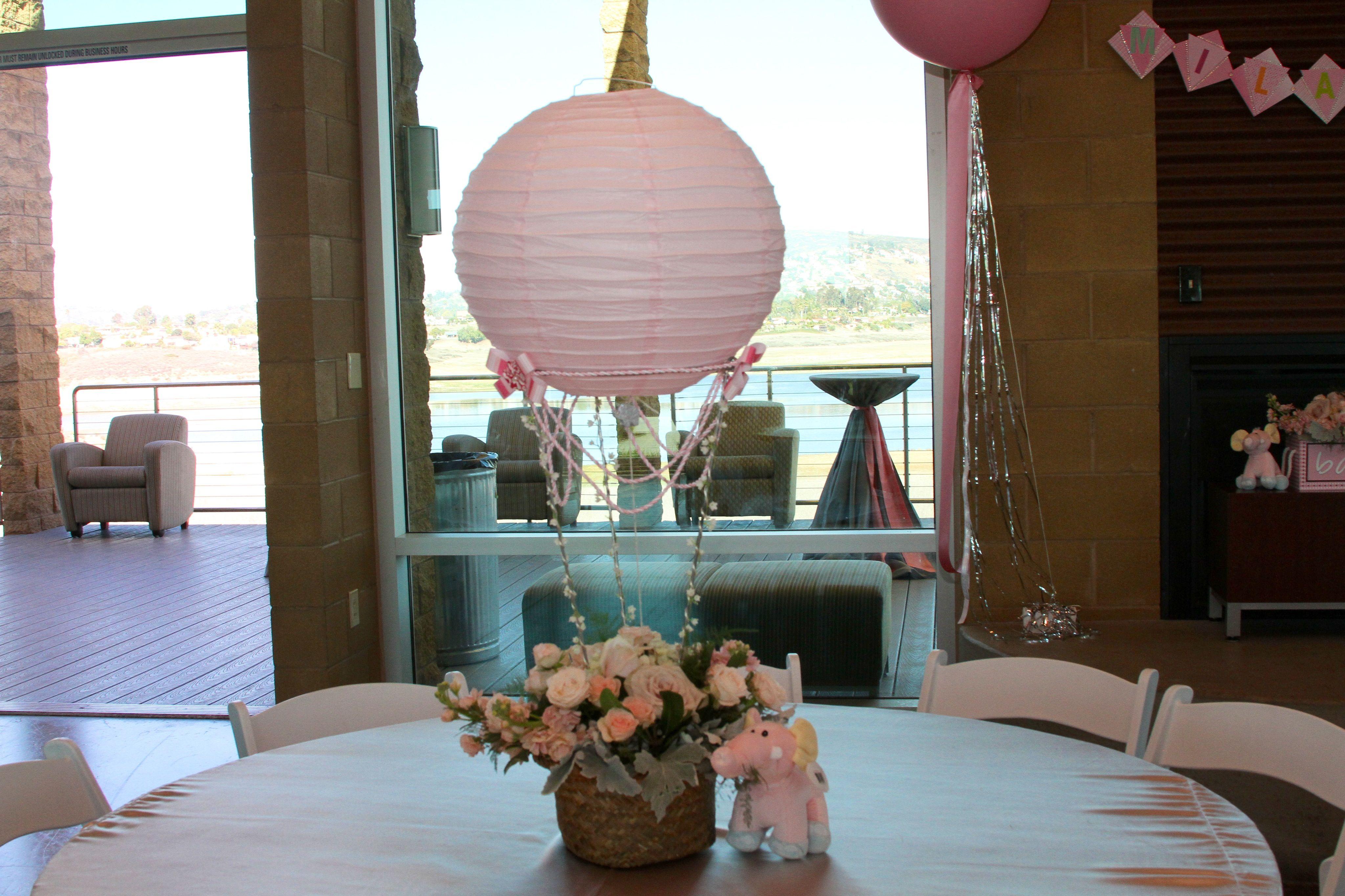 Hot air balloon centerpieces crafts pinterest