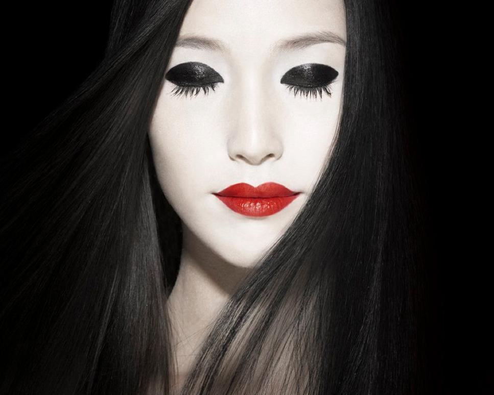 geisha girls makeup