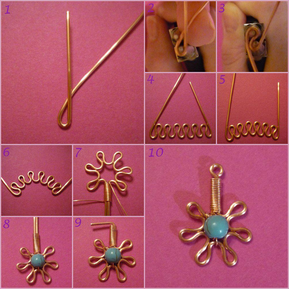 pin by chris de weerd on wire jewelry tutorial