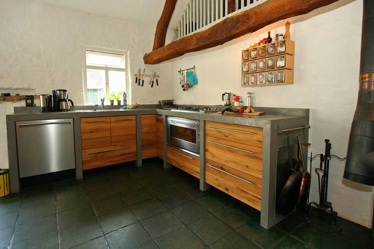 Keuken Hout Beton : Hout en beton Keuken Pinterest