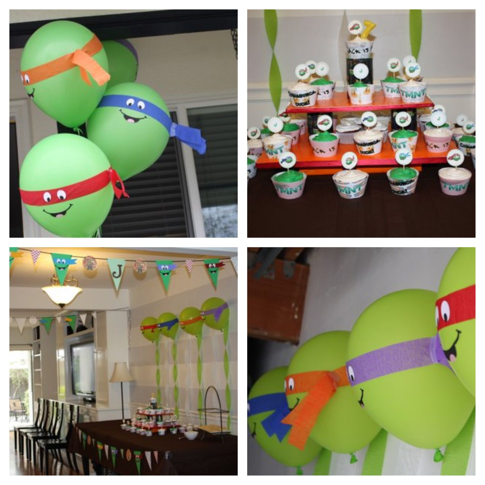 teenage mutant ninja turtles party baby shower and party ideas