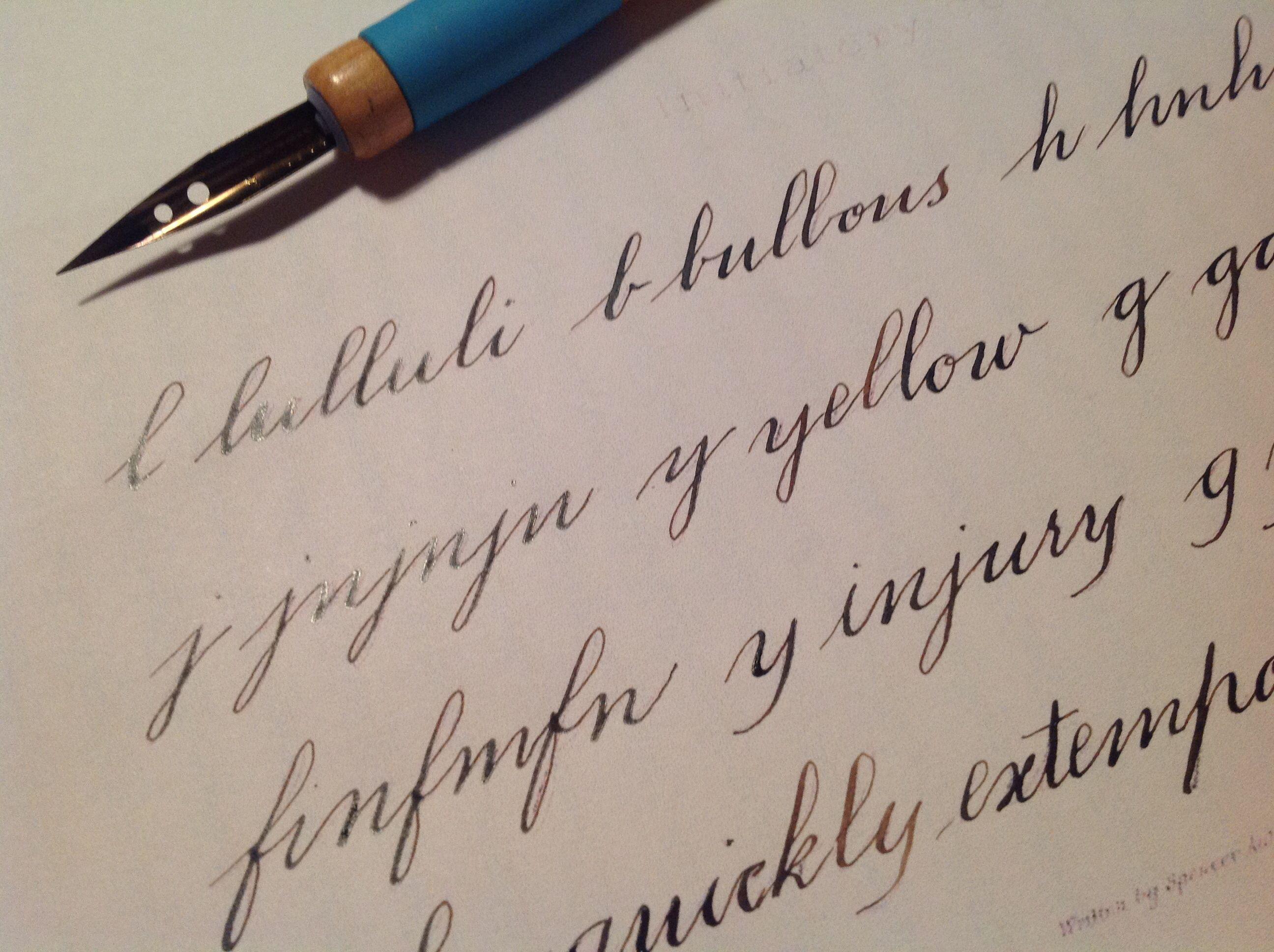 Spencerian Calligraphy Pinterest