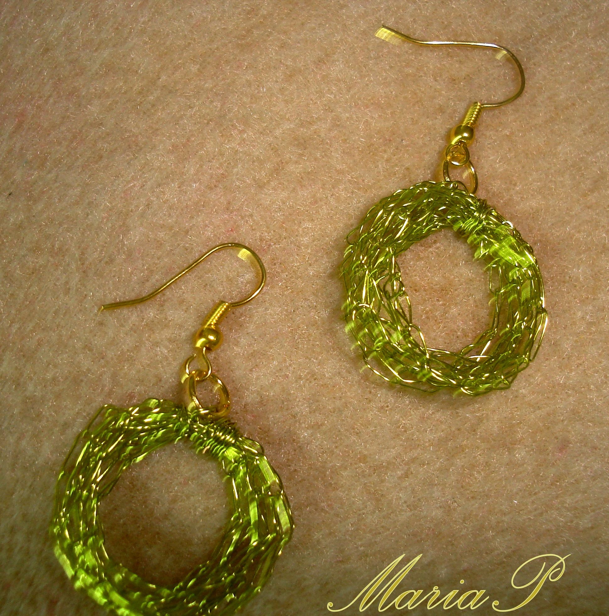 wire crochet My handmade jewelry Pinterest