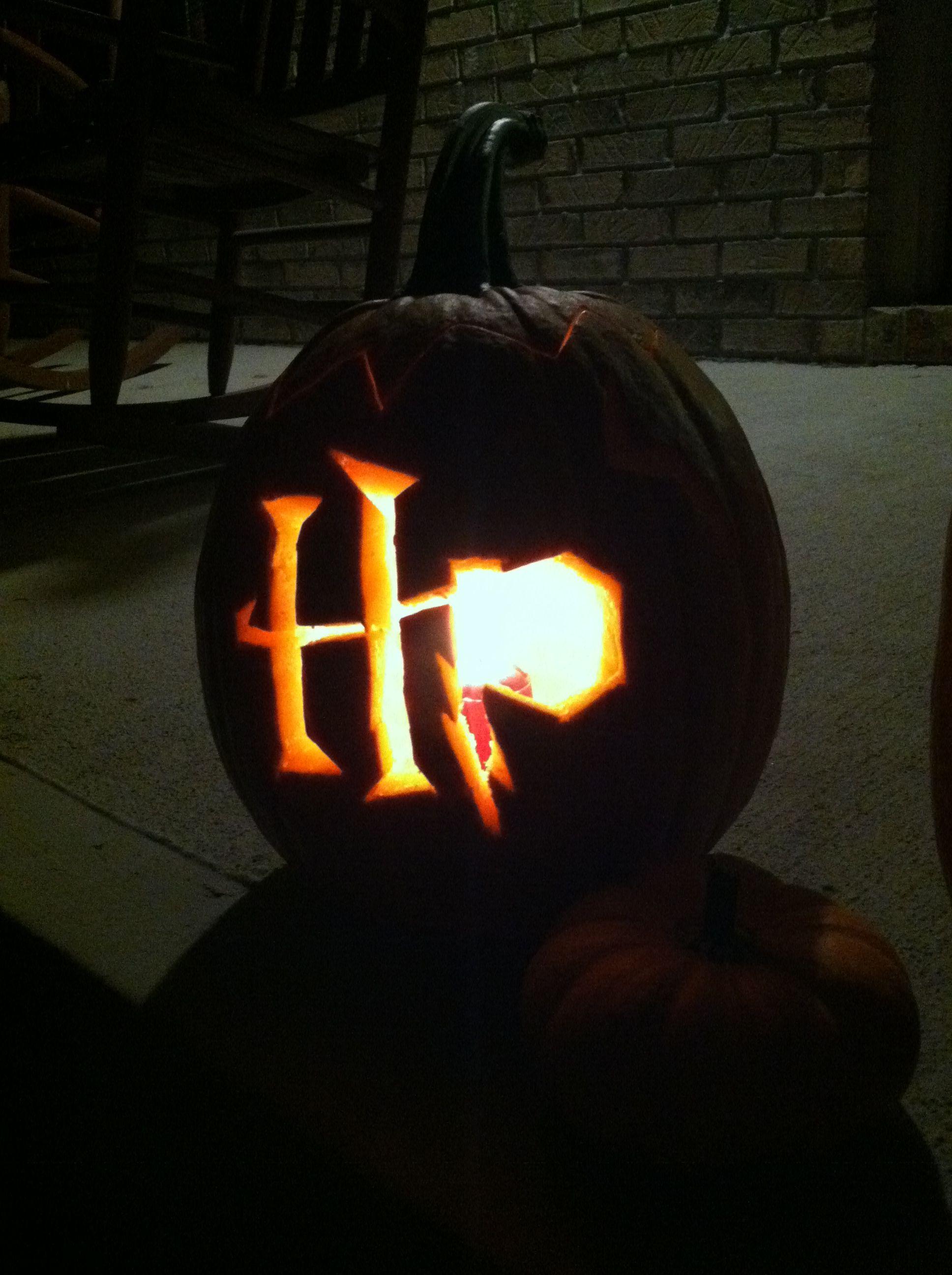 Harry Potter Pumpkin Decorating Halloween Hogwarts Pinterest
