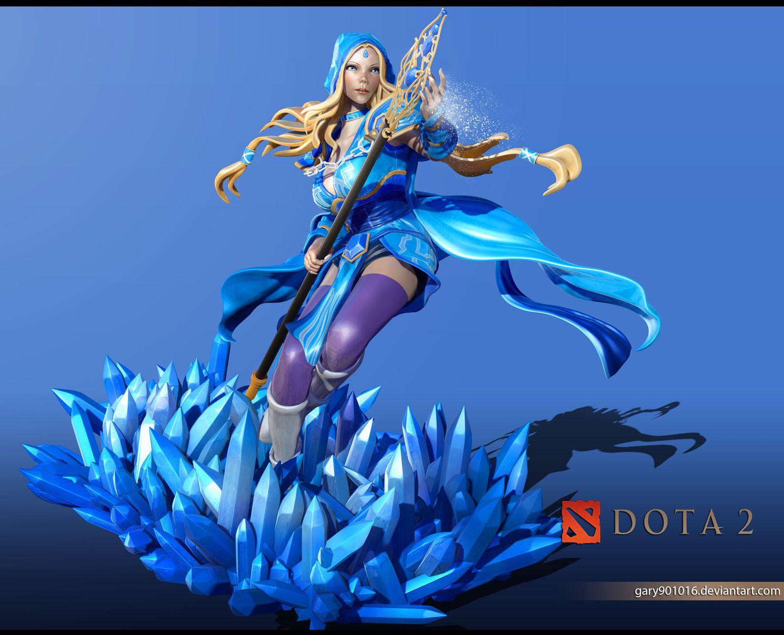 ShareDota Wallpaper Crystal Maiden
