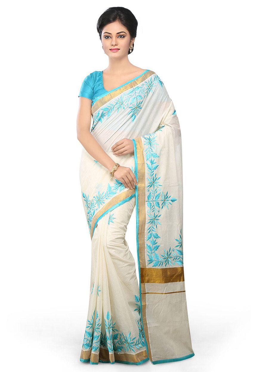 New fashion sarees in kerala 30