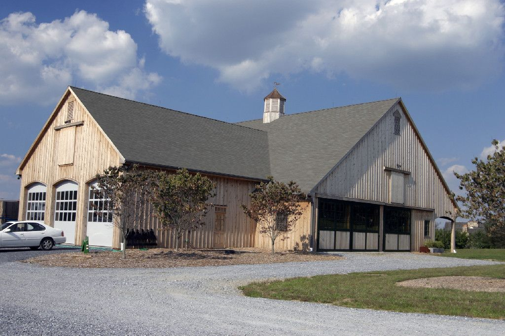 Horse Barn And Garage Combo Horse Barn Pinterest