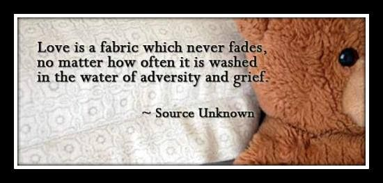 love is a fabric inspirational quotes for funeral