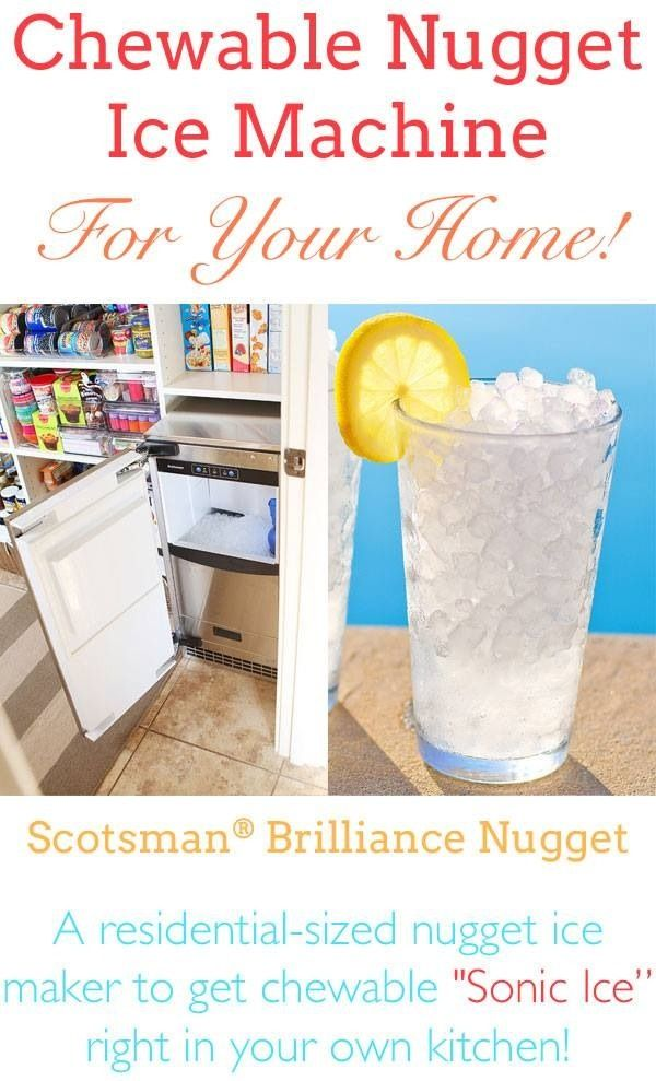 Nugget ice Products I Love Pinterest