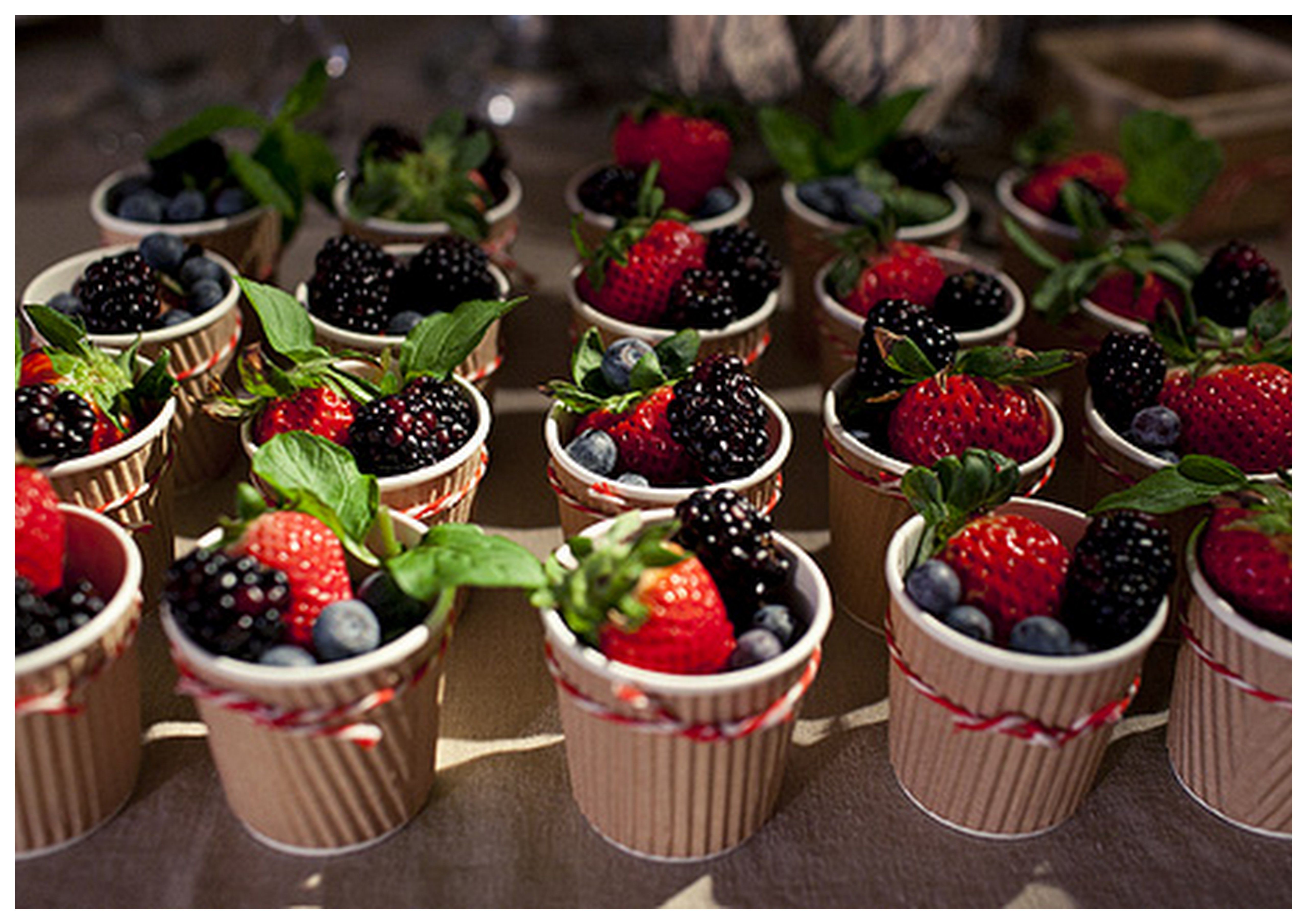 Fruit cups grand mere 39 s new love pinterest for French inspired party food