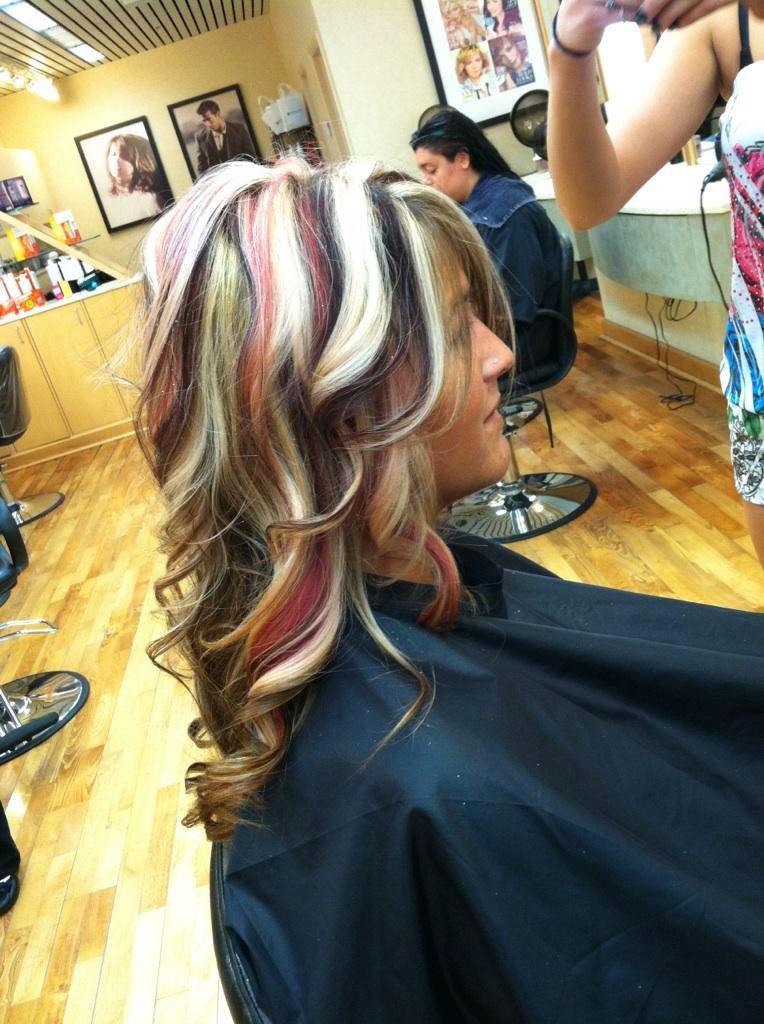 Black Blonde Red Hair 76