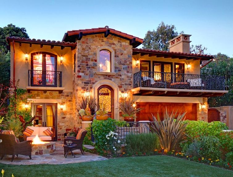 Tuscan home old world mediterranean italian spanish for Tuscany style homes