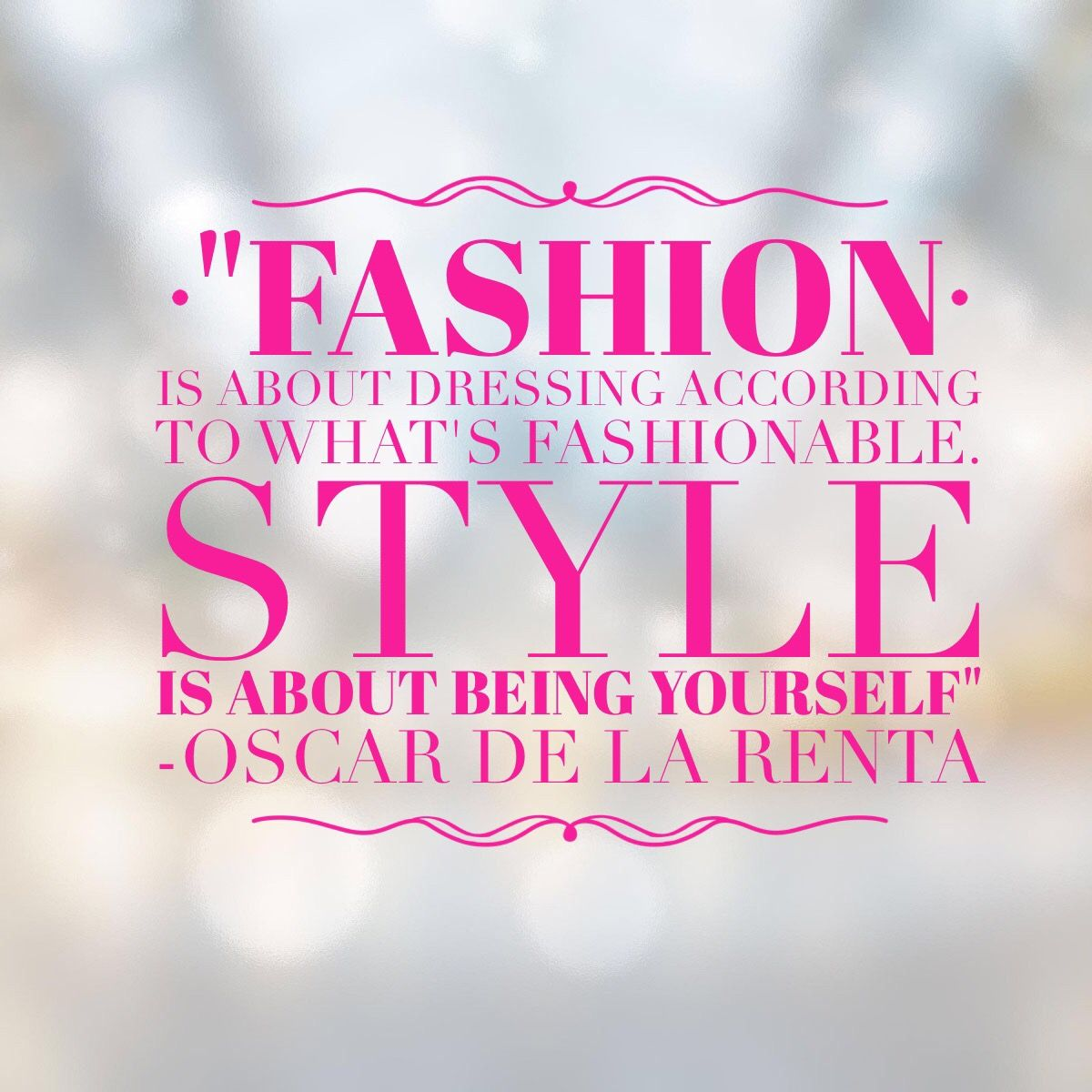 Anchoring quotes for fashion show 18