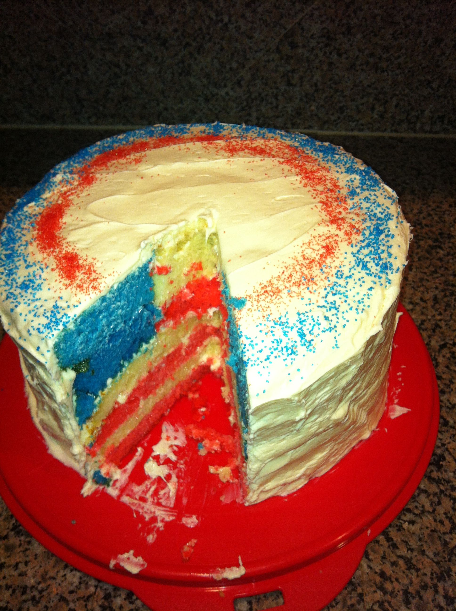 fourth of july cake flavors