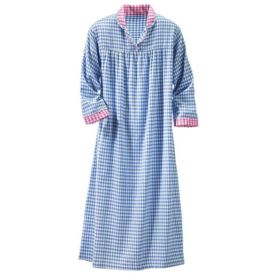 Flannel gown on cold winter nights life s simple pleasures pinter