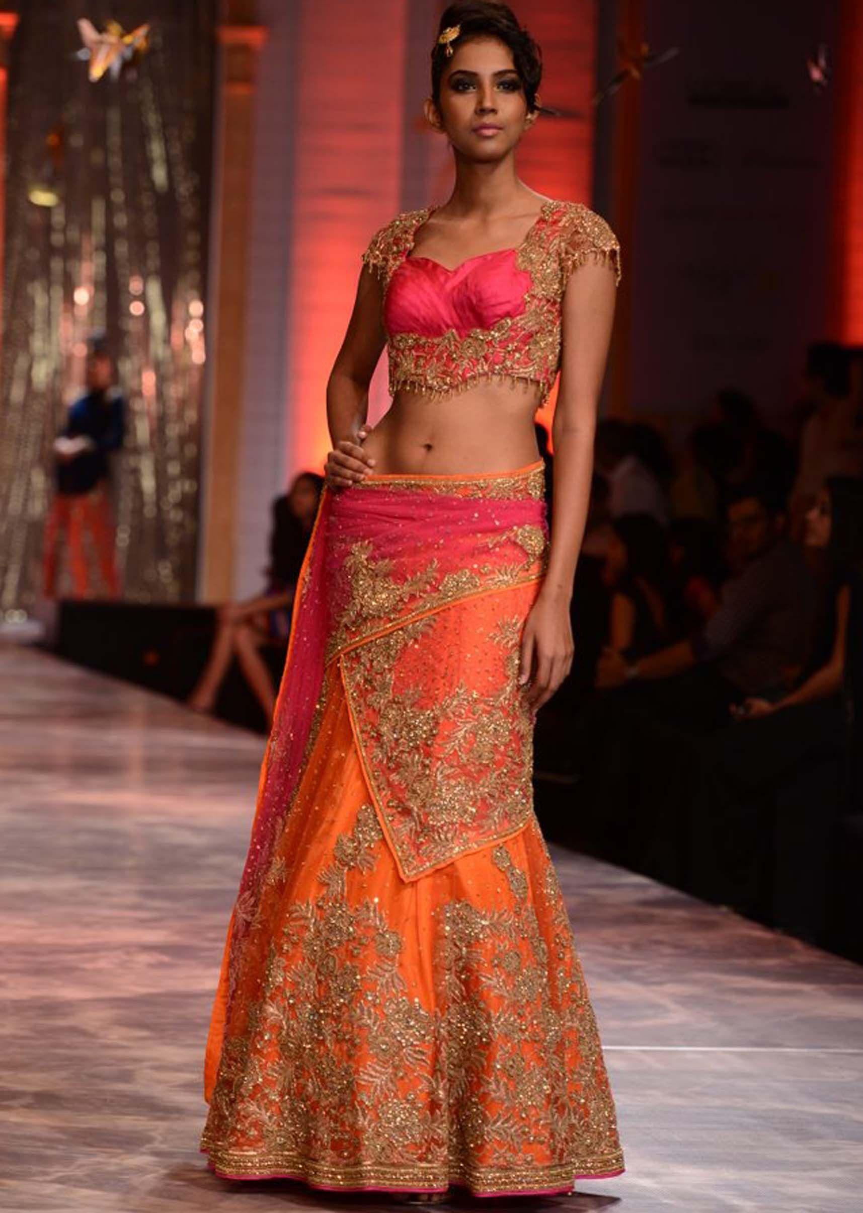 Designer wedding lehengas by neeta lulla