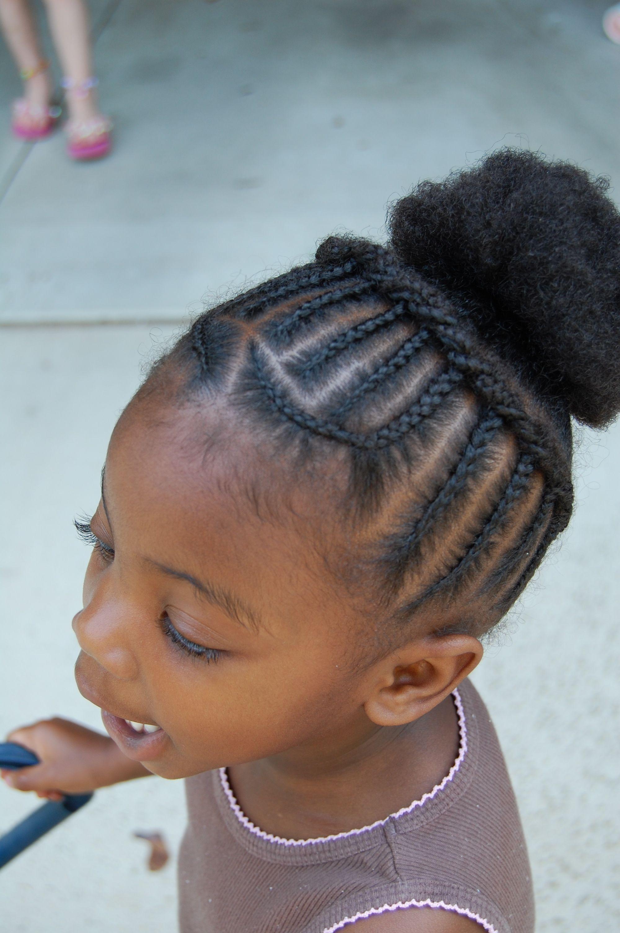 African Princess Little Black Girl Natural Hair Styles