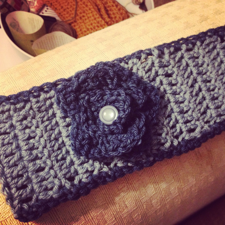 Crochet Ear Warmer : Crochet ear warmer Crochet ideas/patterns Pinterest