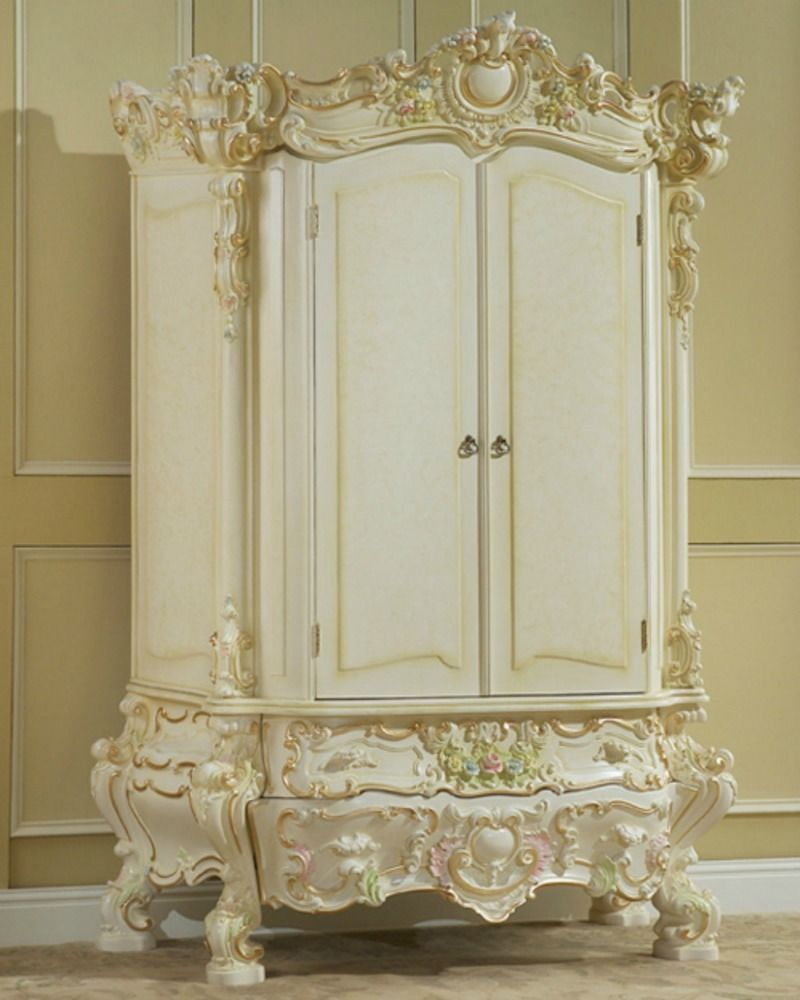 French Style Armoire White On White Pinterest