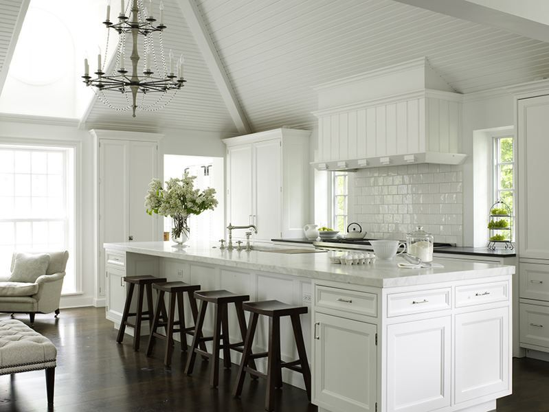 All White Kitchen Ideas For Ash Street Pinterest