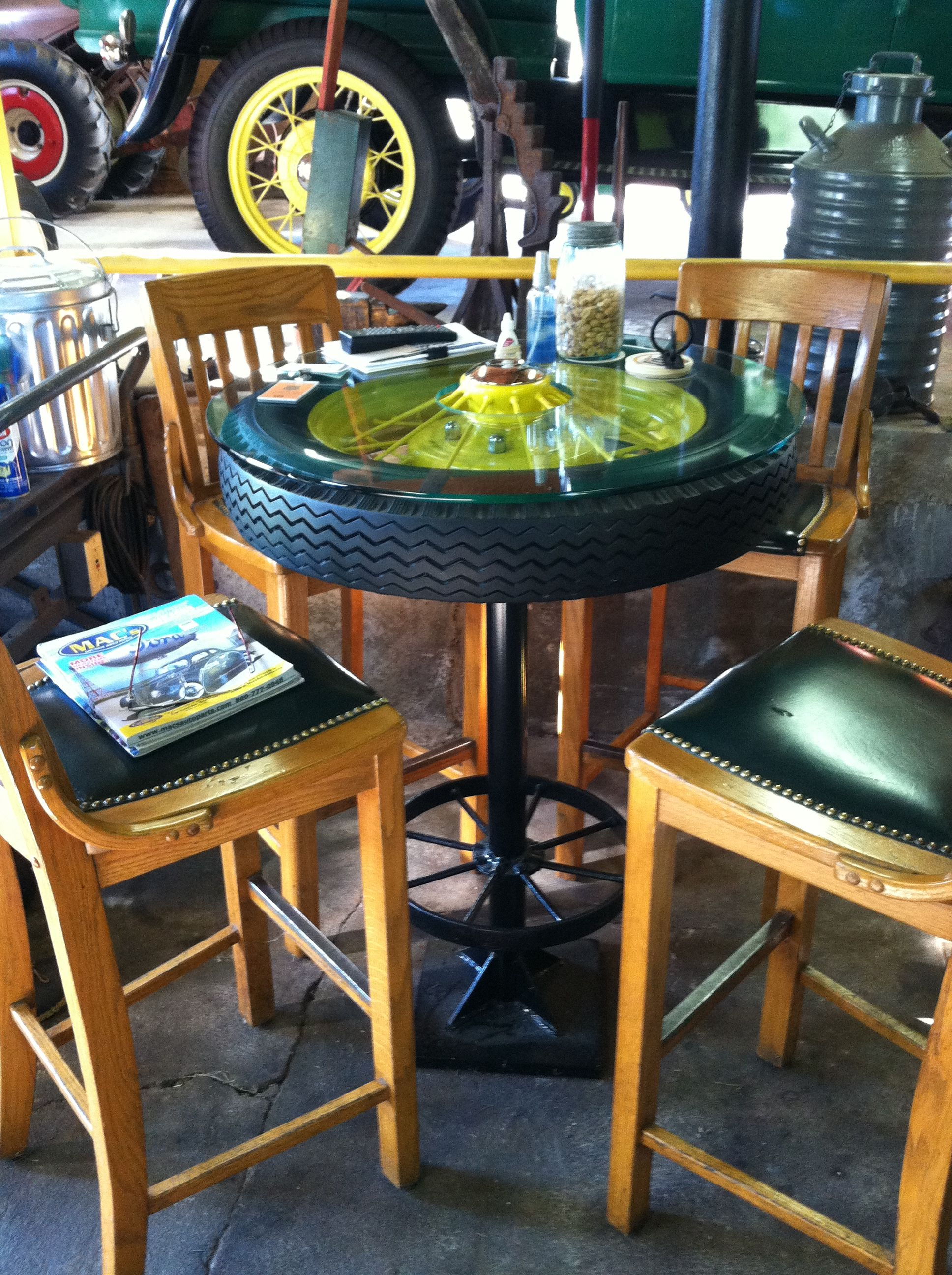 John Deere Cafe Table : Pin by jo b on inside pinterest