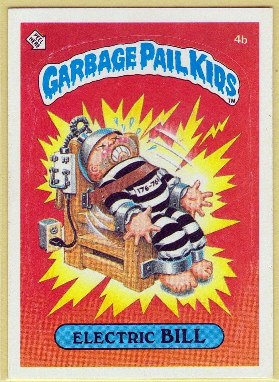 Garbage Pail Kids Comics And Cards Pinterest