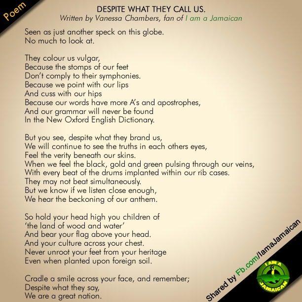 Poem harlem
