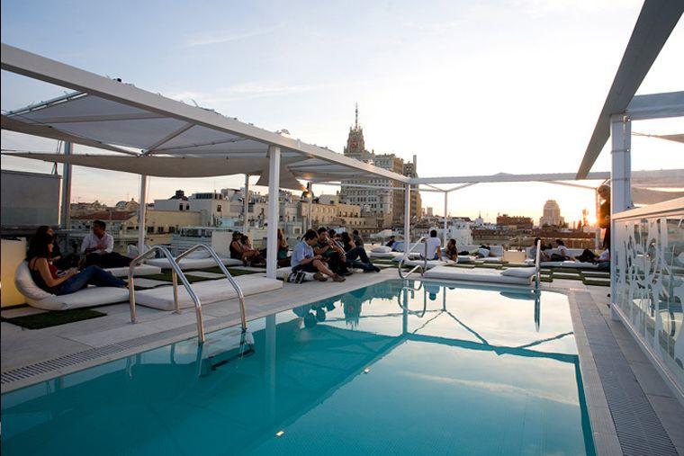 40 terrazas para tocar el cielo de madrid eat love madrid - Piscina bagnolo mella ...
