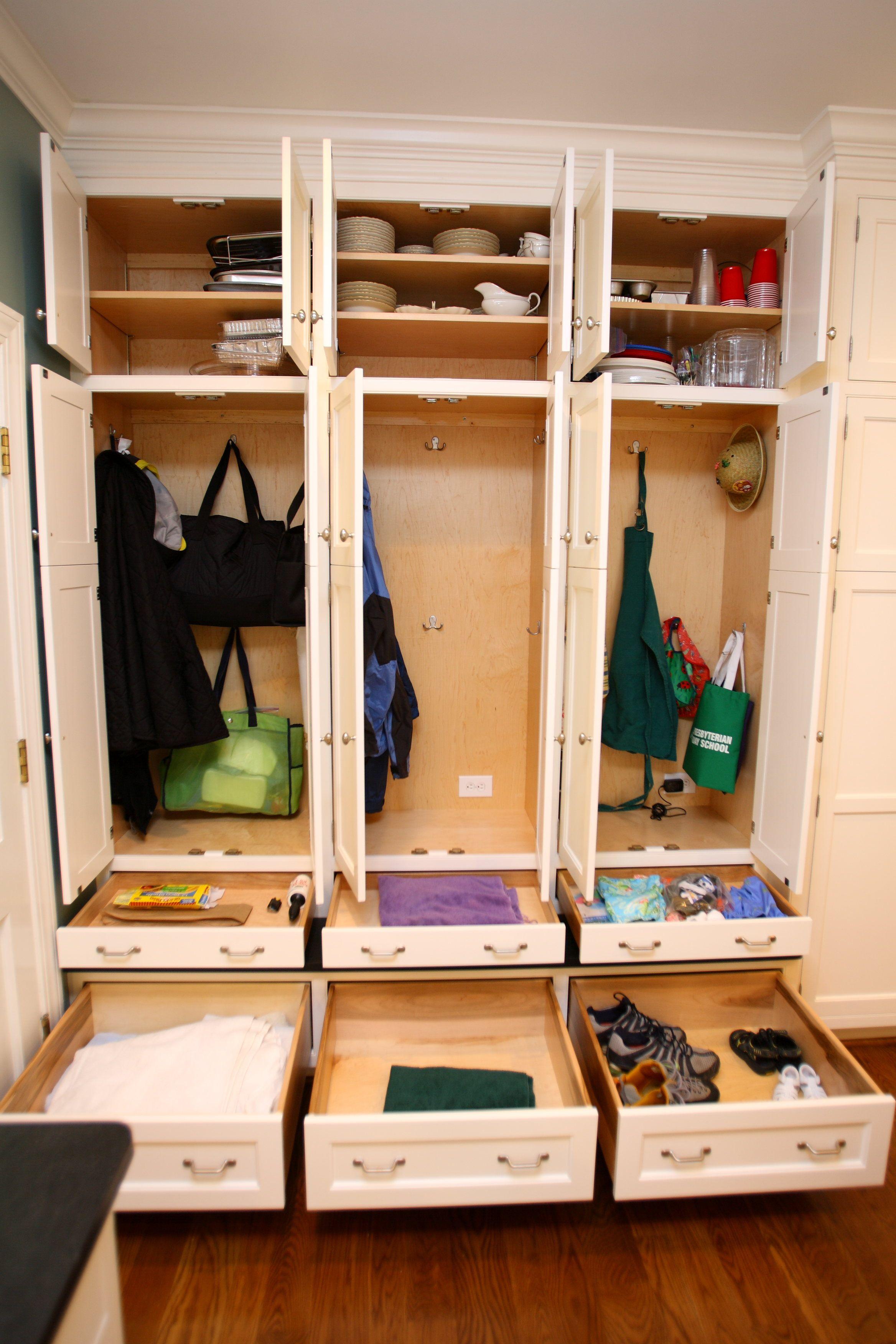 Family Lockers, Open  Laundry,Bath,Dressing Rooms  Pinterest