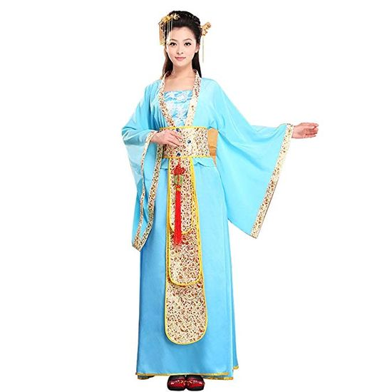 Bysun Chinese Ancient East Asian Women's Stage Han Fu Costume