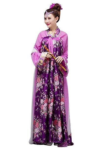 springcos Women Chinese Costume Ruqun Fancy Dress Halloween