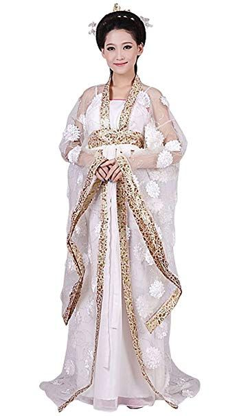 springcos Chinese Costume Fancy Dress Women Princess Dress Trailing Empress