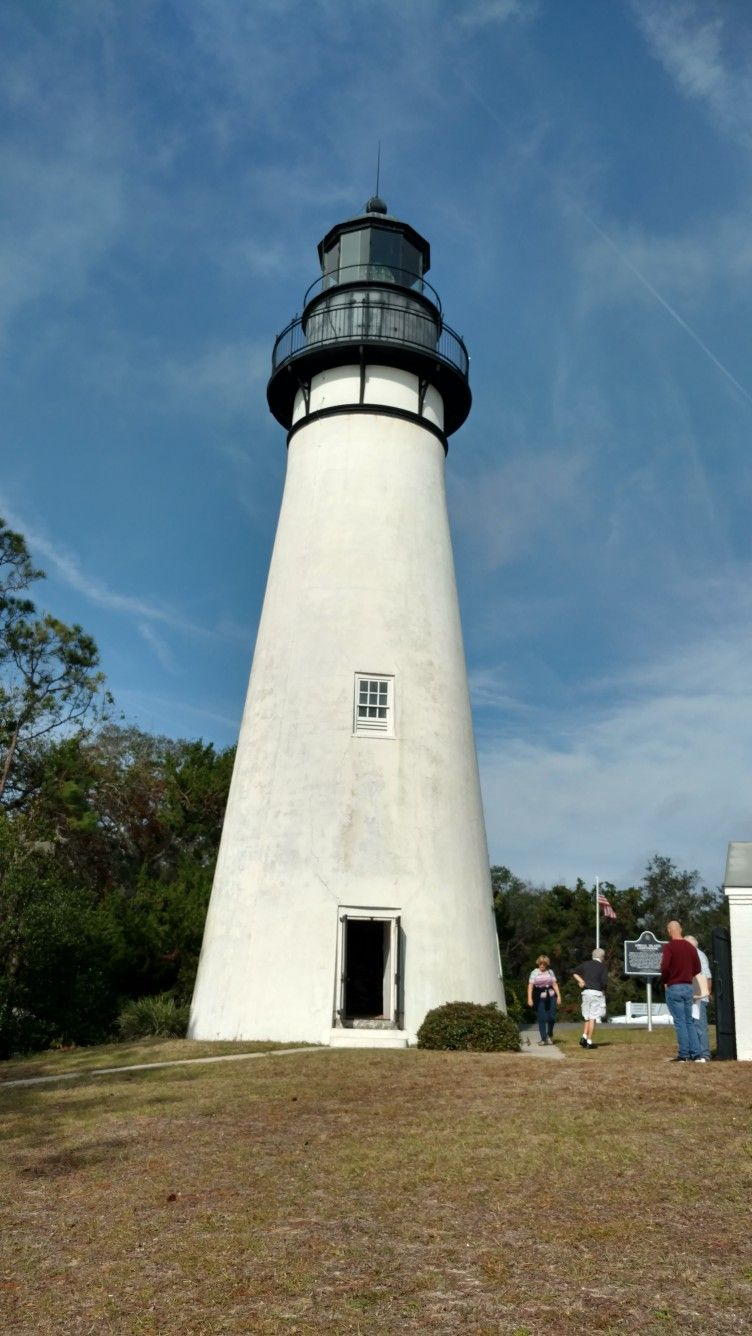 Live from Amelia Island Lighthouse in Florida. 12/20/17 ...