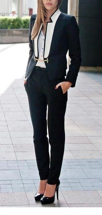 I like the blazer style